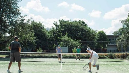 Tennis in New Farm