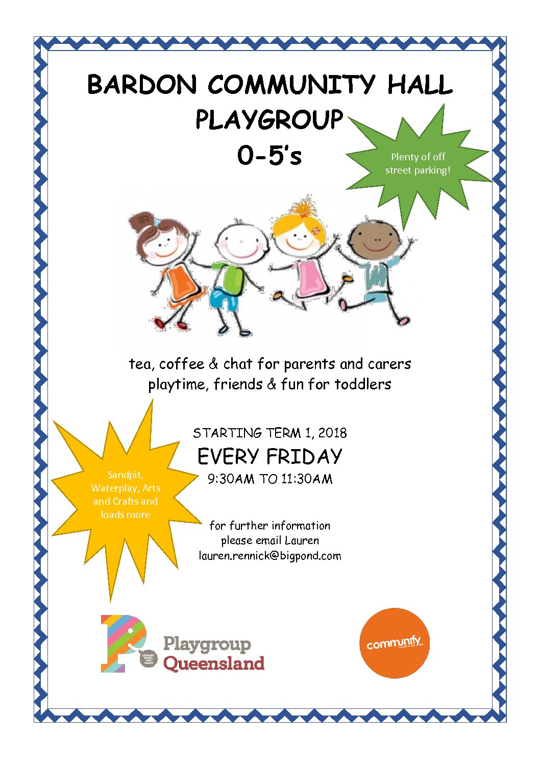 Bardon Community Hall Playgroup