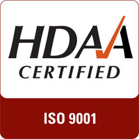 HDAA Certified Badge