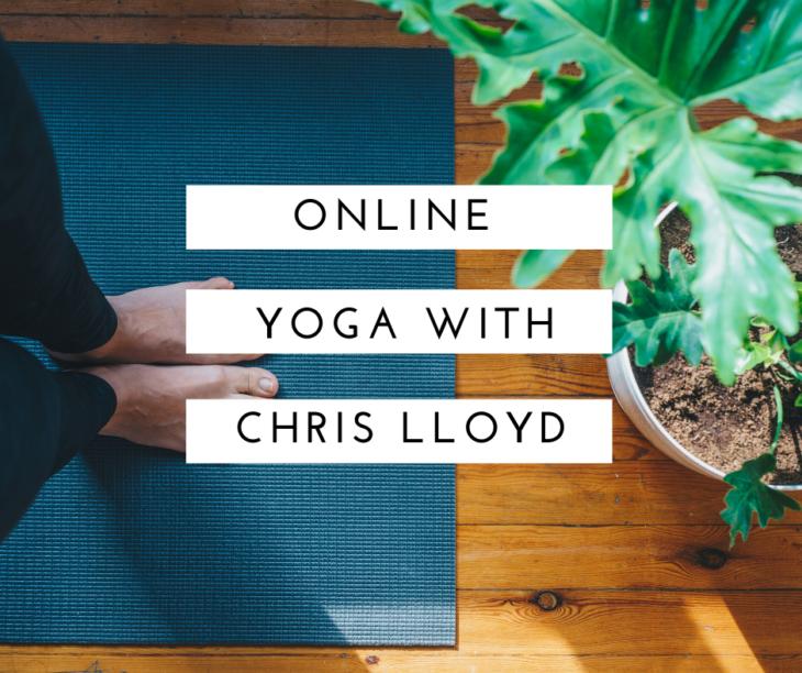 Online Yoga with Chris Lloyd