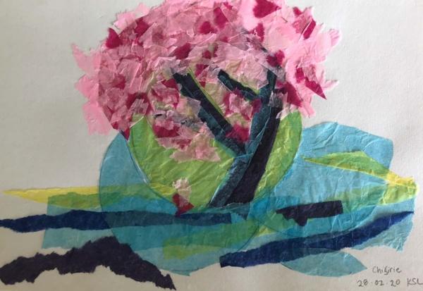 Kirsty - Chigiri-e Tree