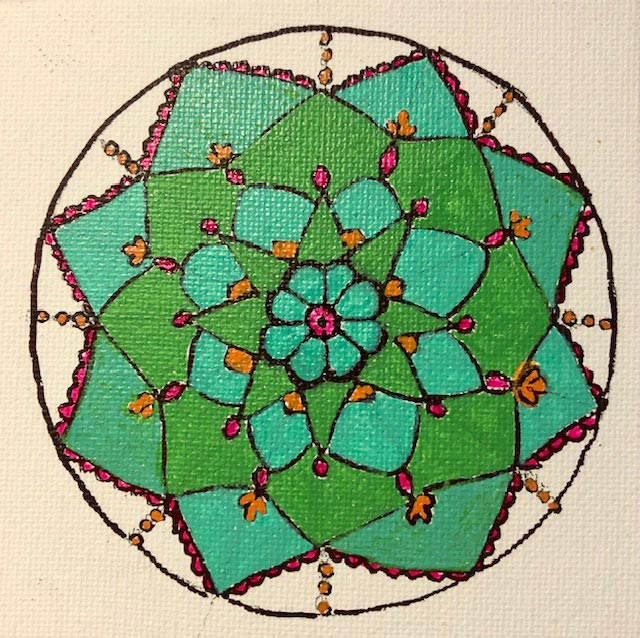 Kirsty - Succulent Mandala