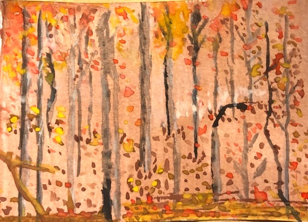 Kirsty L - Watercolour Forest
