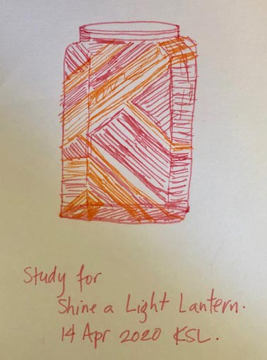 Kirsty - Lantern study