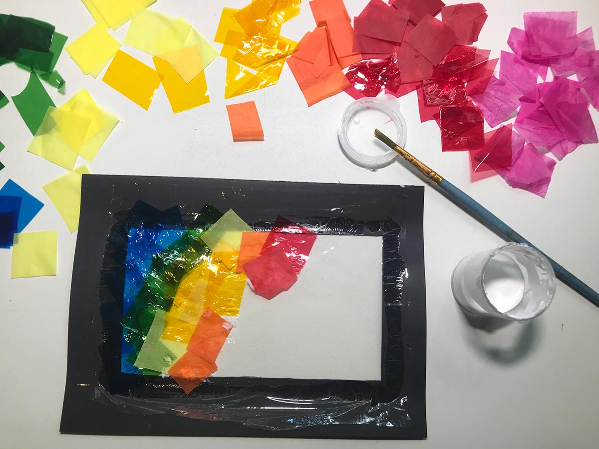 Rainbow Window gluing