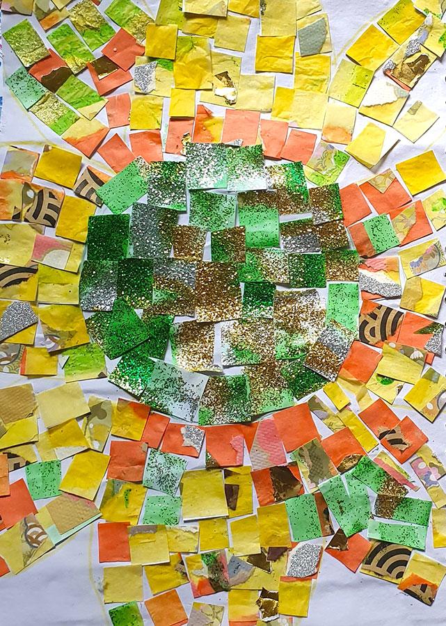 Sonya - Sunflower Chigiri-e