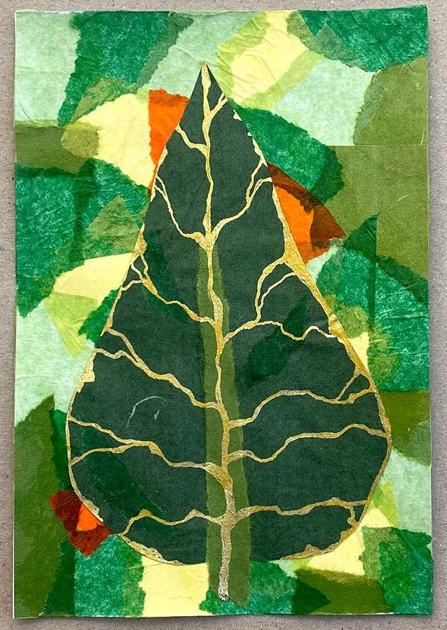 Tanya B - Leaf Chigiri-e