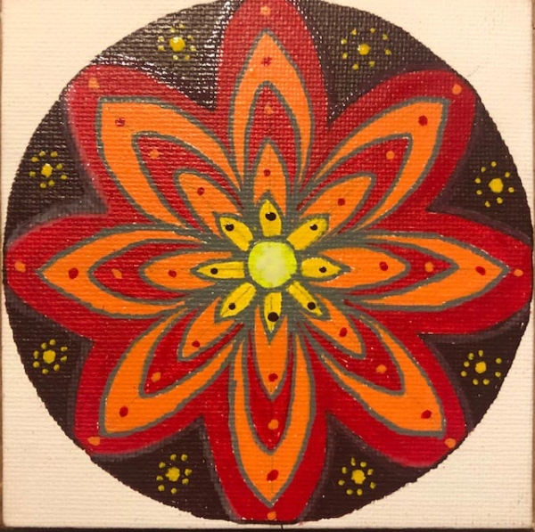 Kirsty L - Fire Mandala
