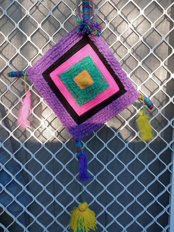 Ojo de dios - Crochet by Ann