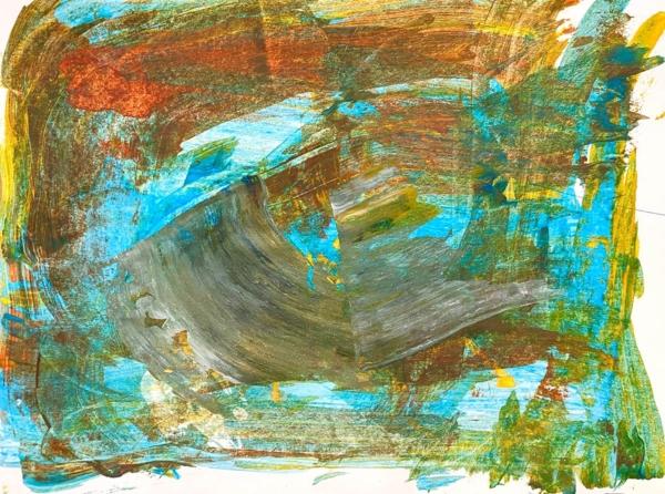 Gary - Acyrlic paint