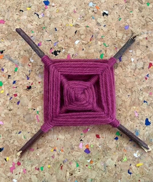 Ojo de dios - Crochet by Kirsty