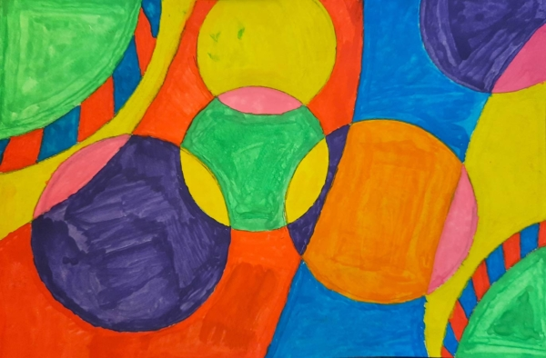 LJB - Circles of Colour Watercolour