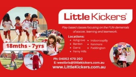 Little Kickers West Brisbane