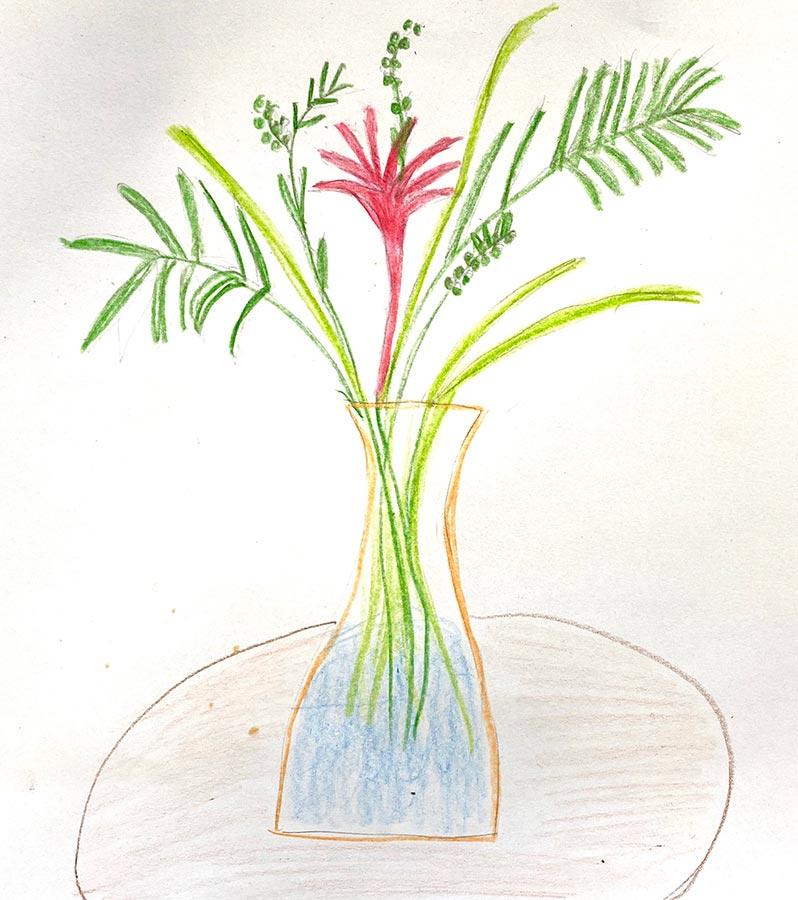 still-life - vase