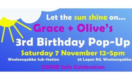 Grace and Olive's Pop-Up Shop