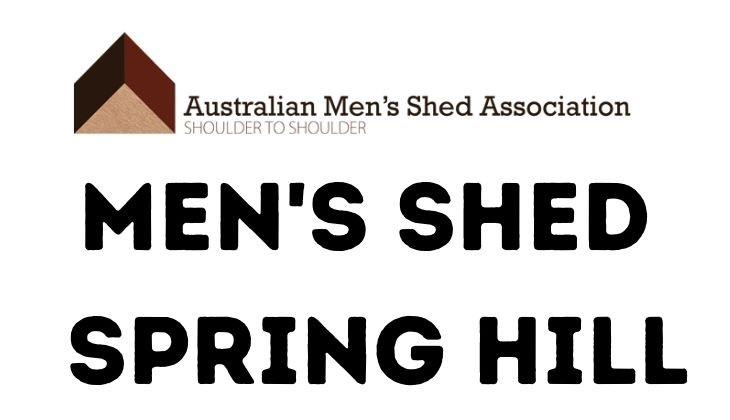 Men's Shed Spring Hill