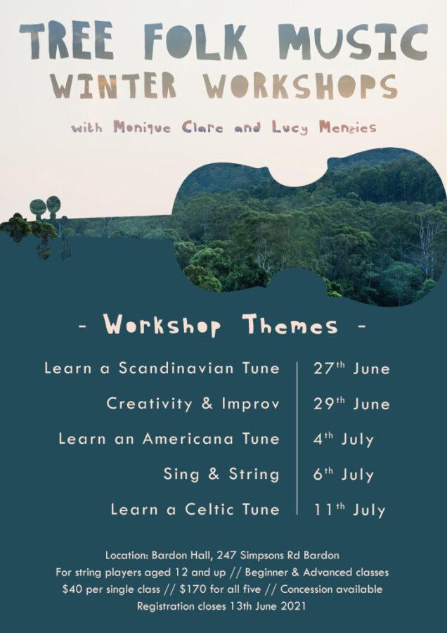 Tree Folk Music 2021 Winter Workshop
